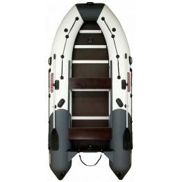 Надувная 4-местная ПВХ лодка Посейдон Касатка KS335