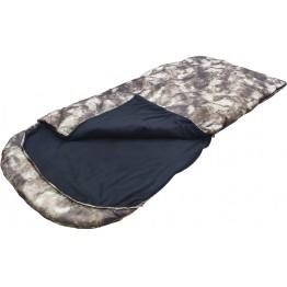 Спальный мешок-одеяло Poseidon Fish 225x95 см с подголовником (-15°С, на флисе, камуфляж)