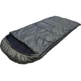 Спальный мешок-одеяло Poseidon Fish 225x95 см с подголовником (-15°С, на флисе, однотонный)