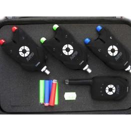 Комплект сигнализаторов поклевки с пейджером CarpeX Rapid 88-EK-530
