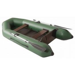 Надувная 2-ух местная ПВХ лодка Румб 290 М (жесткая слань)