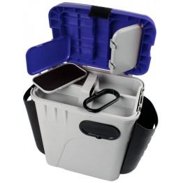 Ящик рыболовный зимний с карманом для рыболовных приманок и принадлежностей Salmo Aquatech® 1870-K
