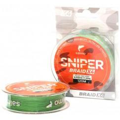 Леска плетёная Salmo Sniper BRAID Army Green 91 м