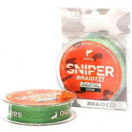 Леска плетёная Salmo Sniper BRAID Army Green 91 м
