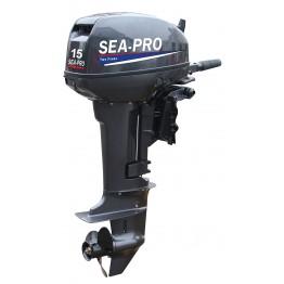 Подвесной 2-х тактный бензиновый лодочный мотор Sea-Pro T15S