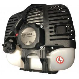 Подвесной 2-х тактный бензиновый лодочный мотор Sea-Pro T 3.5S