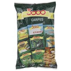 Прикормка Sensas 3000 Carp 0.8 кг (карп)