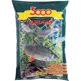 Прикормка Sensas 3000 Gardons 1 кг (светлая, плотва)