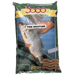 Прикормка Sensas 3000 Gros Gardon Fine Mouture 1 кг (мелкий помол, плотва)