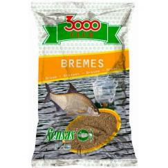 Прикормка Sensas 3000 Club Bremes 1 кг (желтая, лещ)