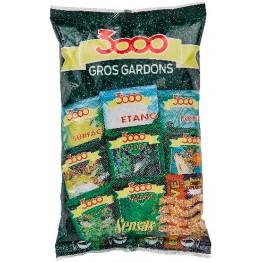 Прикормка Sensas 3000 Gros Gardons 0.8 кг (коричневая, плотва)