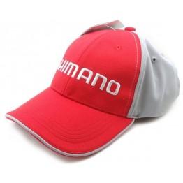 Бейсболка Shimano Standart Cap Red Gray