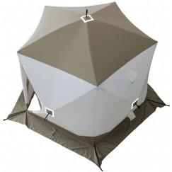 Палатка зимняя Следопыт КУБ PREMIUM 5 СТЕН, трехслойная (2.8х2.75х2.05 м)