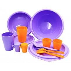 Набор посуды Следопыт TETE-A-TETE в сумке, PF-CWS-PS03