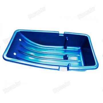 Санки рыбацкие Solar C-2/1 COMBO 850x480x220 мм (синие)