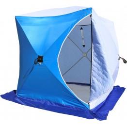 Палатка зимняя СТЭК КУБ 1 трехслойная (1.5х1.5х1.7м)