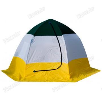"Палатка зимняя СТЭК ""ELITE"" 4-местная, трехслойная (3.0x3.0x2.1 м)"