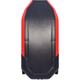 Надувная 2-местная ПВХ лодка Таймень NX 270 Комби (красно-черная)