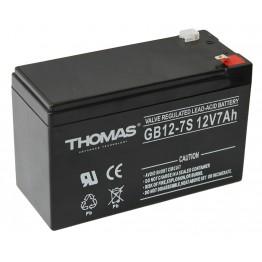 Аккумулятор для эхолота Thomas GB12-7S 12V, 7Ah
