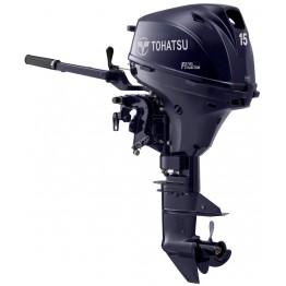 Подвесной 4-х тактный бензиновый лодочный мотор Tohatsu MFS15 ES