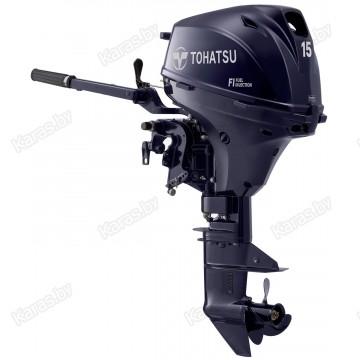 Подвесной 4-х тактный бензиновый лодочный мотор Tohatsu MFS15 ES EFI
