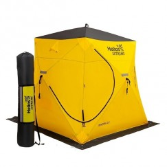 Палатка зимняя Helios Extreme Призма v2.0 (2.0х2.0х2.0м) + 8 ввертышей