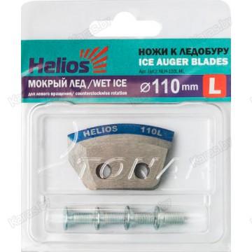Ножи для ледобура Тонар Helios Мокрый Лед 110 (левое вращение)