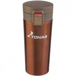 Термокружка Тонар (400мл) кофейная HS.TMК-02