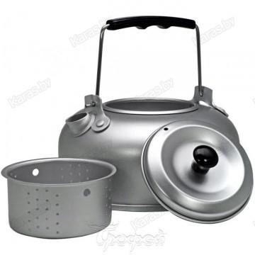Чайник алюминиевый Helios c ситечком для заваривания (1л)