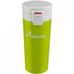 Термокружка Тонар (400мл) зеленая HS.TMК-03