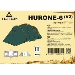 Кемпинговая палатка Totem Hurone 6 v2