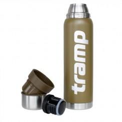 Термос TRAMP Expedition Line 0,9 л с дополнительной чашкой (оливковый)