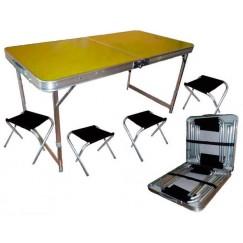 Набор мебели в чехле на 4-6 человек Tramp, TRF-035