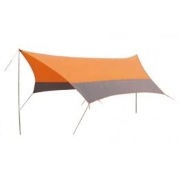 Тент со стойками Tramp Lite Orange 4.4x4.4 м