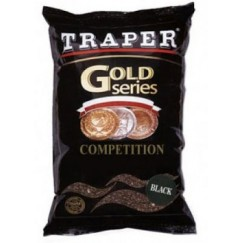 Прикормка Traper Gold Competition Black 1кг (черная)