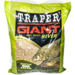 Прикормка Traper Giant River Super Bream 2.5 кг (река, лещ)