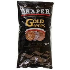 Прикормка Traper Gold Active Black 1кг (черная)