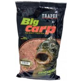 Прикормка Traper Big Carp Truskawka 1 кг (клубника)