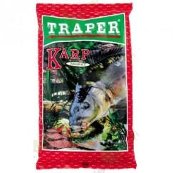 Прикормка Traper Sekret Karp 1кг (красная)