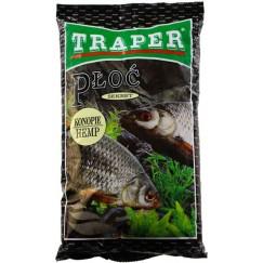 Прикормка Traper Sekret Płoć Konopie 1кг (плотва, конопля)