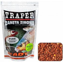 """Прикормка зимняя Traper Ready Ploc """"Плотва"""" (коричневая) 0.75 кг"""