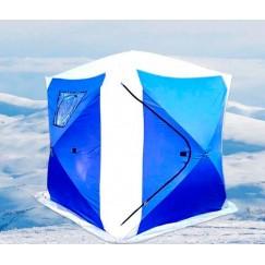Палатка зимняя Traveltop Куб CT-1620A трехслойная (2.0x2.0x2.15 м)