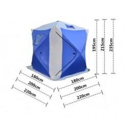 Палатка зимняя Traveltop Куб TH-1622 (2.2x2.2x2.35 м)