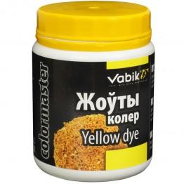 Краска для прикормки Vabik Colormaster желтая 100г