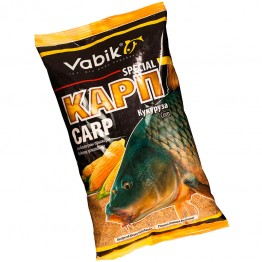"Прикормка Vabik Special Carp Corn ""Карп Кукуруза"" (жёлтая) 1кг"