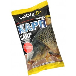 "Прикормка Vabik Optima Carp Strawbarry ""Карп Клубница"" (светлая) 1кг"