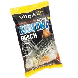 """Прикормка Vabik Optima Roach Black """"Плотка"""" (черная) 1кг"""