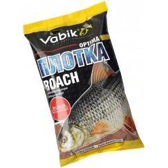 """Прикормка Vabik Optima Roach Bloodworm """"Плотка Матыль"""" (красная) 1кг"""