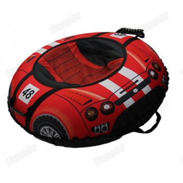 Санки-ватрушки Митек Спортивная Машинка (95см)