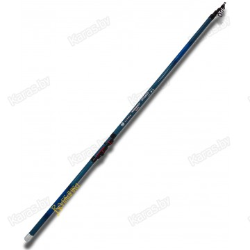 Удочка с кольцами Волжанка Атлант, 6.0 м, углеволокно, тест: до 50 г, 366 г